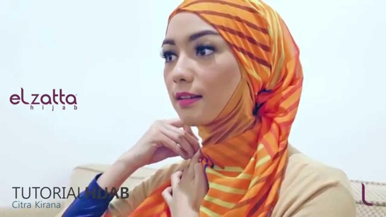 Hijab Tutorial Citra Kirana Elzatta Hijab Ramadan 1436 H