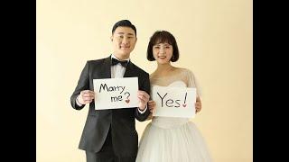 기업가 최현일, 김진아 부부의 결혼식 오프닝 영상