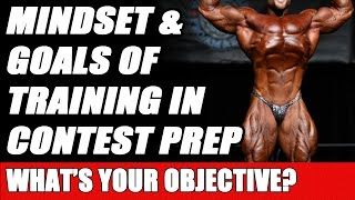 Ben Pakulski Discusses Workout Mindset & Goals of Training in Contest Preparation