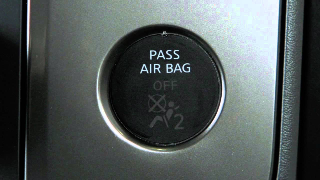 Nissan Rogue Service Manual: Front passenger air bag module