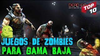 ?Los 10 Mejores Juegos de Zombies Offline para Android Gama Baja 2020