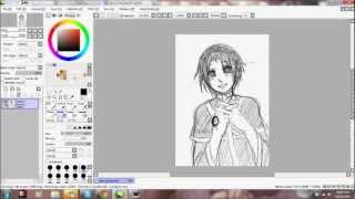Sketching Teito Klein from 07-Ghost with a short life update + FAQ?