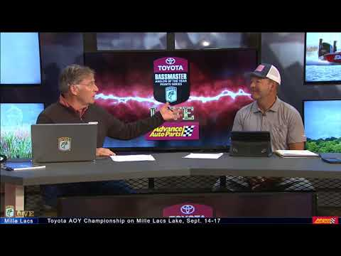 Bassmaster Live: 2017 Angler of the Year Championship Sunday