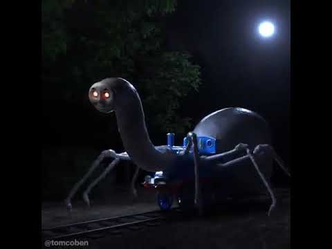 Cursed Thomas The Train Spider Youtube