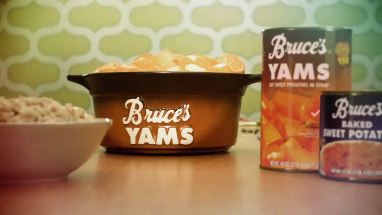 Bruce S Yams Yam Right Youtube