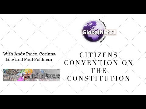 Why the Citizens of UK should create a new Constitution & how to do it
