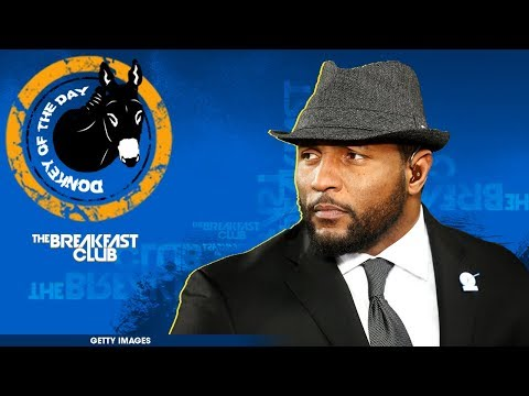Ray Lewis Explains Why He Knelt During The National Anthem On Sunday, Saying He Was Praying