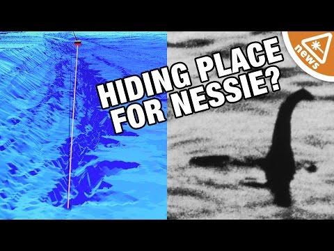 Loch Ness Monster Lair Discovered?! (Nerdist News WTFridays w/ Jessica Chobot)
