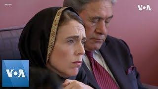 NZ Mosque Shootings: PM tells Muslims in Christchurch New Zealand is united in grief