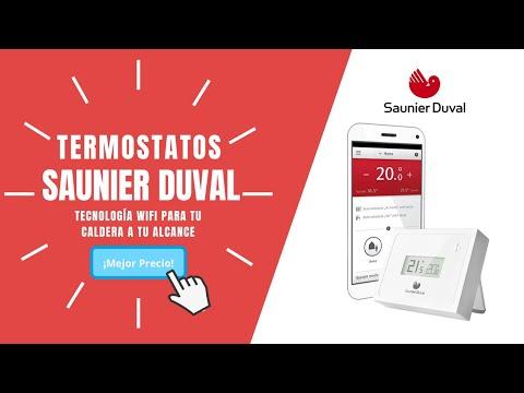 C mo instalar un termostato wifi saunier duval youtube for Termostato caldera wifi
