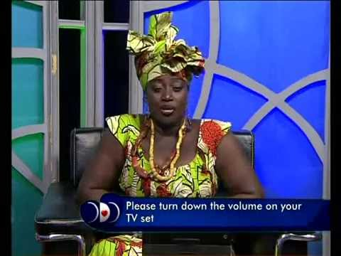 Importance of beads to an African woman