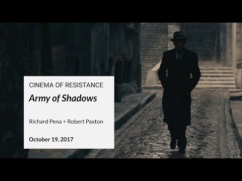 Cinema of Resistance: Army of Shadows