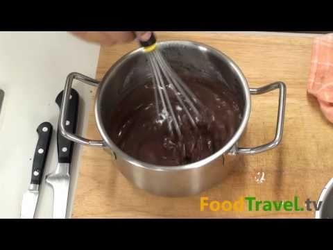พานาคอตต้า ช็อคโกแลต Chocolate Panna Cotta