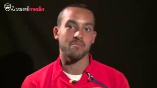 Arsenal stars mock Mesut Ozil & Mathieu Flamini over their ridiculous bromance