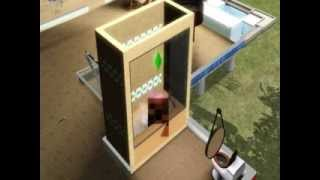 Sims 3: Playing submarine in the bath