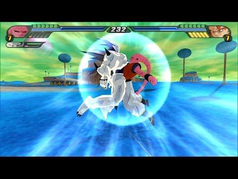 Omega Shenron Vs Kid Buu Fusion Vegeta b...