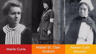 Untold Stories: The Women of World War I