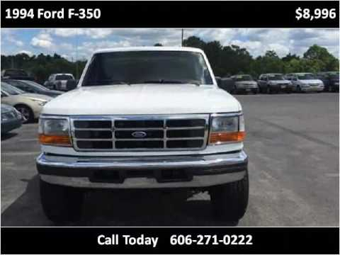 1994 ford f 350 used cars somerset ky youtube for Tri city motors superstore somerset ky