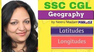 latitudes and longitudes geography ssc cgl gk  Hindi medium