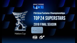 Gran Turismo®SPORT - Competições Online:  TAÇA DAS NAÇÕES FIA