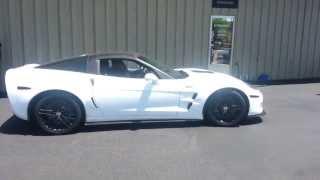 ZR1 Corvette 1/4 Mile BURNOUT
