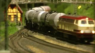 Die schönsten Modellzüge bei der Modellbahnausstellung Oktorail in Spur H0