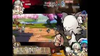 幻想戦姫 対戦動画 【雪女】vs【くろちゃ】