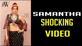 Gambar cover Samantha Shocking Video | Sex is more important than food for Samantha