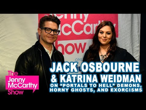 """Jack Osbourne & Katrina Weidman on demons, ghost sex, exorcisms, Ozzy, and """"Portals to Hell"""""""