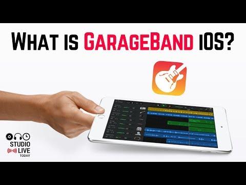 FREE Music Recording App For IPad & IPhone - GarageBand IOS