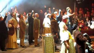 Classical Brit Awards - Les Mis cast performance