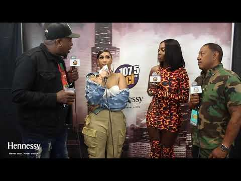 WGCI Summer Jam - Queen Naija Talks New Music with The WGCI Morning Show at #SummerJam!