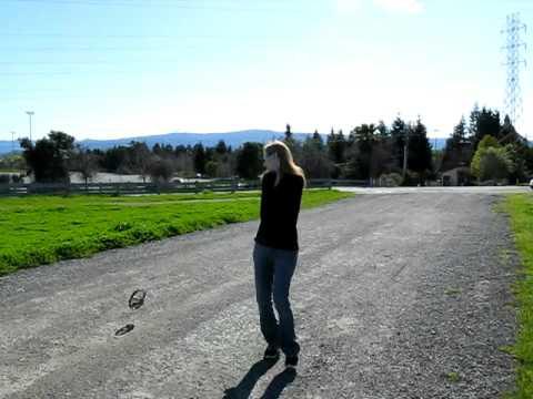 Erica flying UFO 2