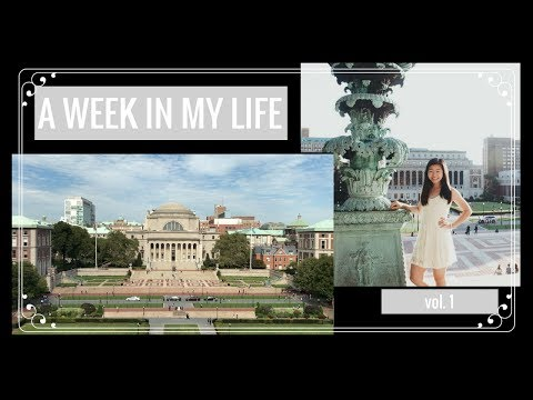 A WEEK AT COLUMBIA Vol. 1 | Classes, Food, & NYC Life