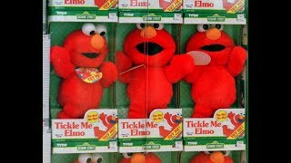 1997 Vintage Tickle Me Elmo : Toysrus Tuesday : How Much Is It Worth Now?