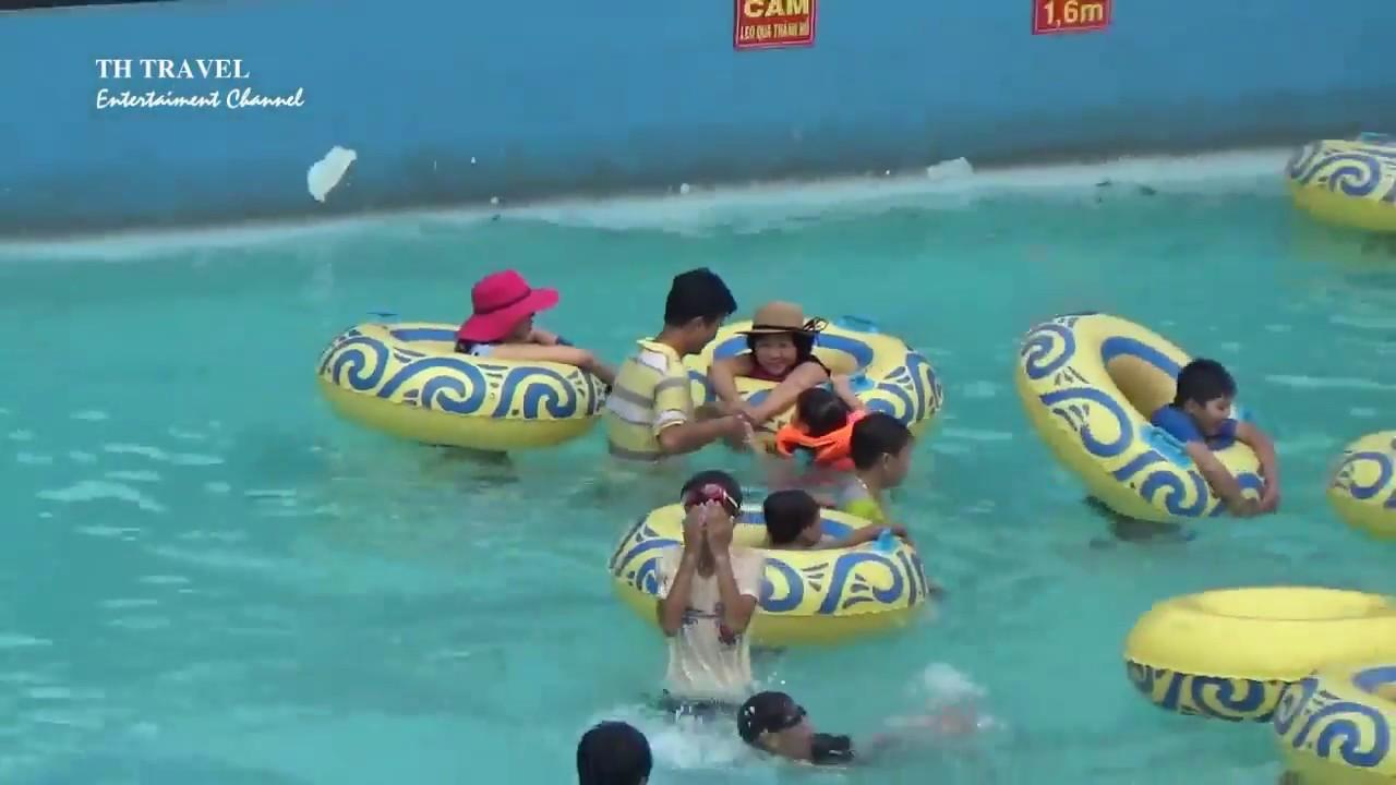 Một ngày ở Công Viên Nước Thanh Lễ, Thủ Dầu Một, Bình Dương. A day at Thanh Le water park.