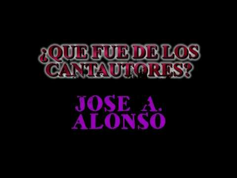 CANTAUTORES EN EL TEATRO MODERNO... JOSE ANTONIO ALONSO