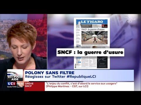 Mardi 3 avril  la revue de presse de Natacha Polony  LCI