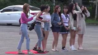 20180720 모모랜드 MOMOLAND 뮤직뱅크 출근길