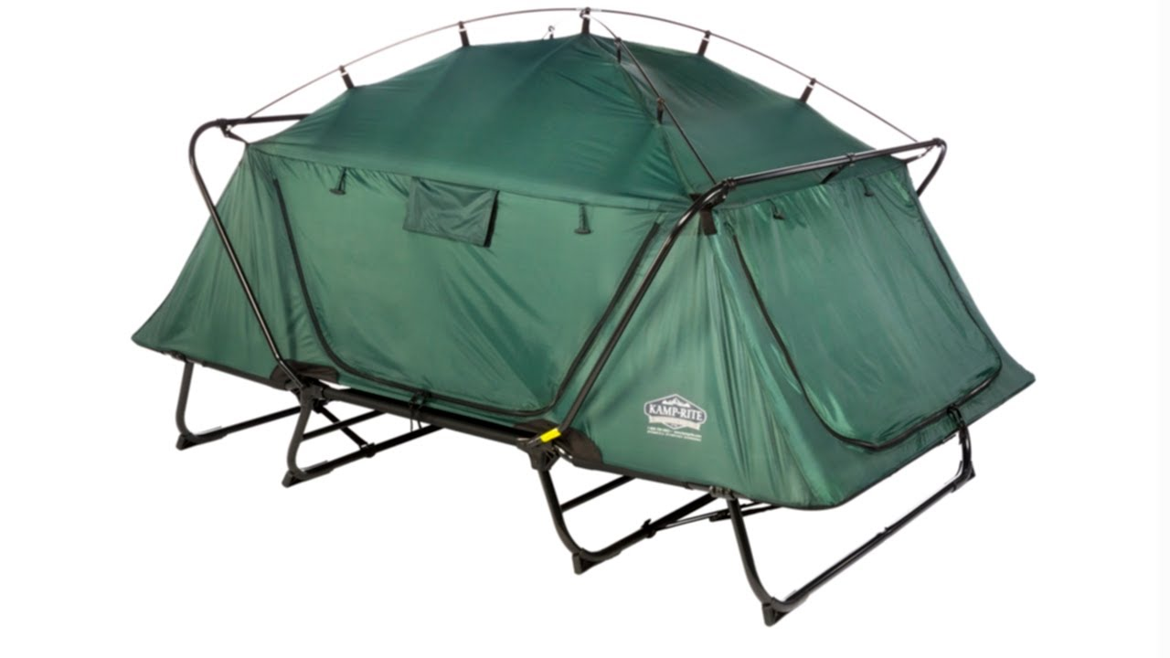 Kamp Rite 174 Double Tent Cot Youtube