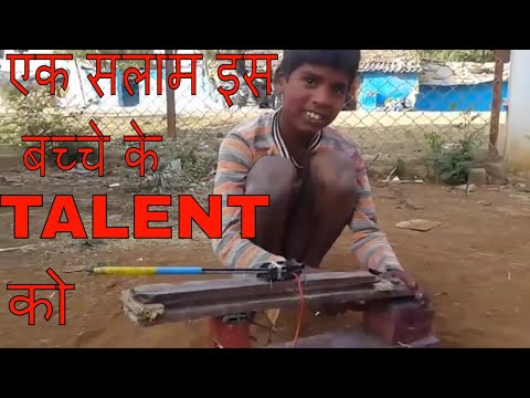 Salute To His Creativity Amazing Indian Street kid talent Must Watch