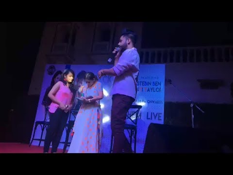 NitiTaylor promotional event at jaipur with stebinben full video