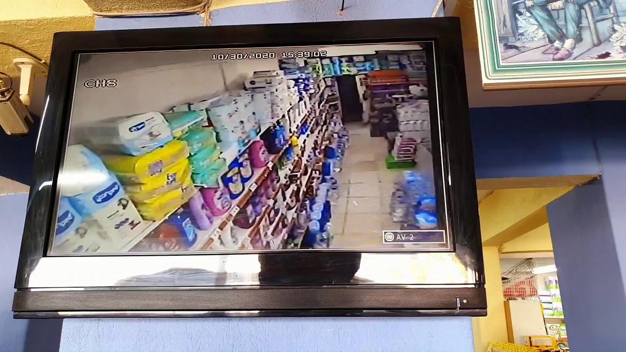 izmir deprem anı kaç saniye sürdü işte o anlar kamerada İzmir Dadaş Market