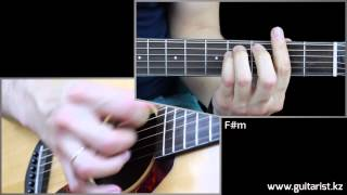 Backstreet Boys - I Want It That Way. Guitar lesson (Уроки игры на гитаре Guitarist.kz)