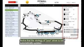Pitwall Strategy Game