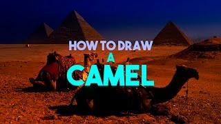 How to Draw a Camel (Intermediate Level) - Art for Foster Care