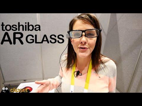 Toshiba AR Glass preview CES