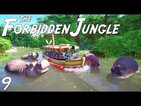 The Forbidden Jungle (adventure) | Planet Coaster | Ep. 9 | Jungle Cruise Water Boat Ride | Part 2