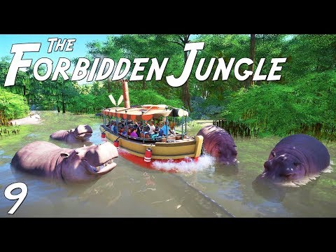 The Forbidden Jungle (adventure) | Planet Coaster | Ep. 9 | Jungle Cruise Water Boat Ride | Part 2