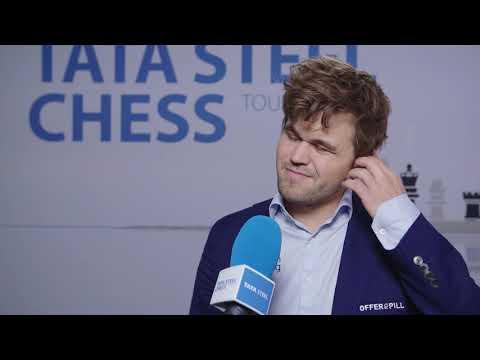 Magnus Carlsen - Post Round 13 Interview